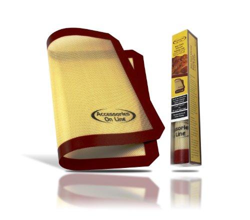 Cook Healthier with Premium Non-stick Silicone Baking Mat,