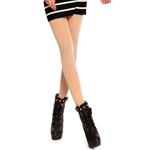 Baomabao Women Velvet Pantyhose Socks (Flesh)