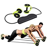 XHHWZB Ab Roller Wheel, Exercise Dual Wheel Easy Grip Handles Core Training, Abdominal Workout Physical Exercise