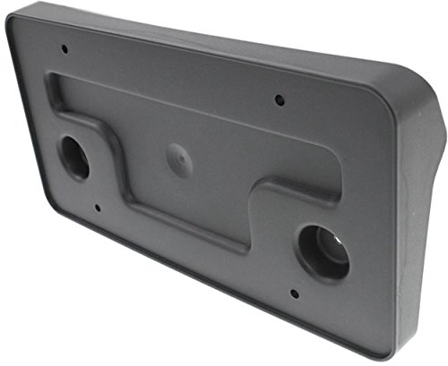 APDTY 112908 License Plate Plastic Frame Holder Bracket Fits 2013-2014 Ford Mustang Front (Except Shelby GT500; Replaces Ford DR3Z-17A385-AA, DR3Z17A385AA)