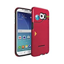 Pokemon GO Original Pokedex Durable PC + TPU Bumper Shock-Absorb Protective Hybrid Case Cover For Samsung Galaxy S6 Edge