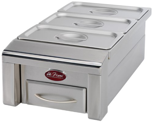 Cal Flame BBQ07888P 12-Inch Food Warmer