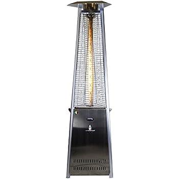 Lava Heat 61000 BTU Patio Heater, Stainless Steel
