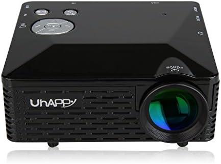 Uhappy BL18 - Mini Proyector LED Portátil (LCD, 320x240, AV/VGA ...