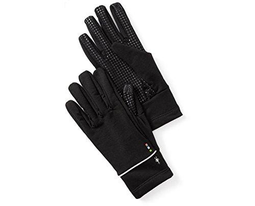 (SmartWool PhD HyFi Training Gloves (Black) X-Small)
