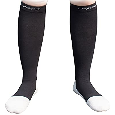Compression Socks 30-40mmHg (1 Pair ) - Best High Performance Athletic Running Socks - Men & Women