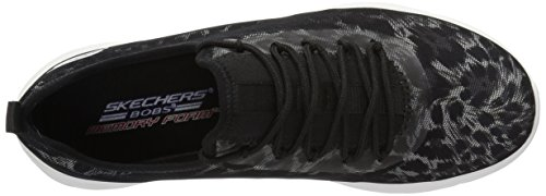 Skechers Bobs Van Womens Bobs Swift Fashion Sneaker Black