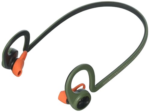 Plantronics BackBeat FIT Wireless Bluetooth Headphones - Waterproof Earbuds with On-Ear Controls for Running and Workout, Stealth Green