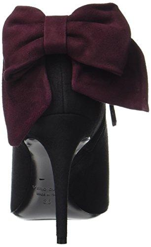 De Tusind Paul90 Dame Stiefel Sort (sort / Bordeaux) OMFM41bp0