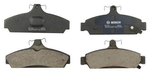 - Bosch BP294 QuietCast Premium Semi-Metallic Disc Brake Pad Set For 1984-1987 Chevrolet Corvette; Front