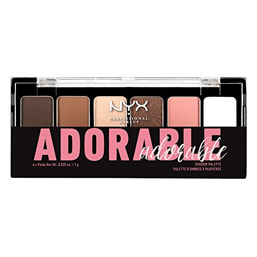 NYX Professional Makeup The Adorable Shadow Palette, 0.035 O