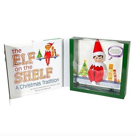 71f1047bb Amazon.com: The Elf on the Shelf: A Christmas Tradition : Chanda A. Bell,  Carol V. Aebersold, Coe Steinwart: Toys & Games