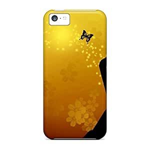 Butterfly Girl Case Compatible With Iphone 5c/ Hot Protection Case