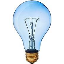 Zilla Reptile Terrarium Heat Lamps Incandescent Bulb, Day Blue, 150W