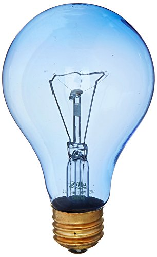 Zilla Reptile Terrarium Heat Lamps Incandescent Bulb, Day Blue, (Day Lamp)