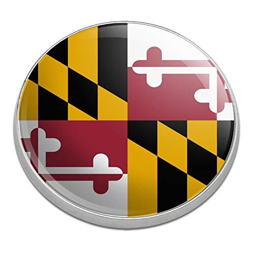 - GRAPHICS & MORE Maryland State Flag Golfing Premium Metal Golf Ball Marker