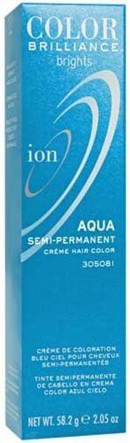 Ion Color Brilliance Semi-Permanent Brights Hair Color Aqua ...