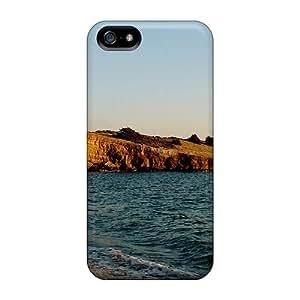 Iphone 5/5s Case Bumper Tpu Skin Cover For Ocean Beach Accessories