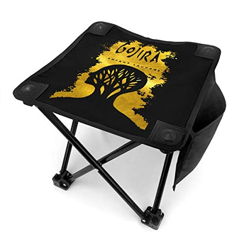 Gojira L'enfant Sauvage Camp Stool Folding Camping Stools Outdoor Sturdy Chair with Carry Bag