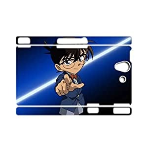 Generic Cases Safeguard For Sony L36H Xperia Z Child Plastics Design With Conan Edogawa