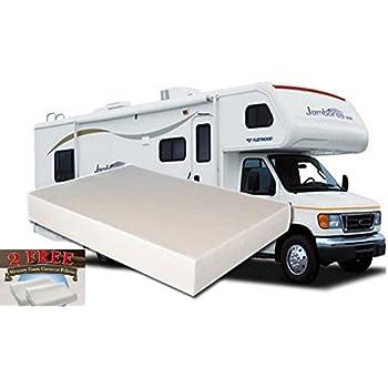 10inch king mediumfirm memory foam short mattress for rv camper