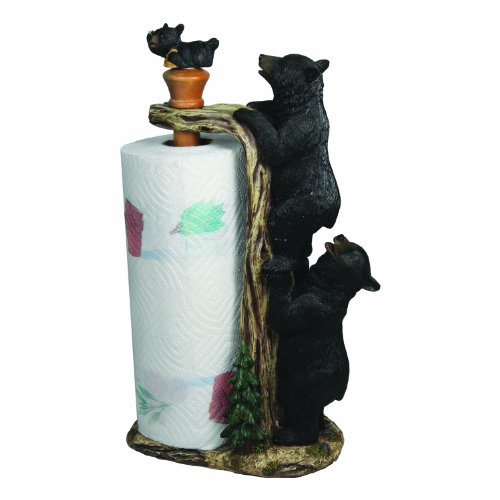 River's Edge Products Bear Paper Towel Holder Bear Paper Towel Holder