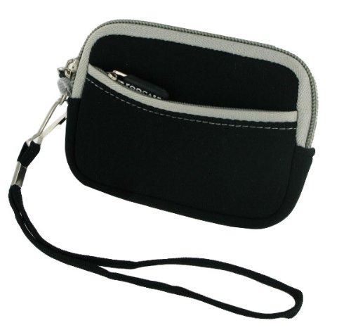 rooCASE Neoprene Sleeve (Black) Carrying Case for Kodak PLAYFULL Video Camera HD Camcorder