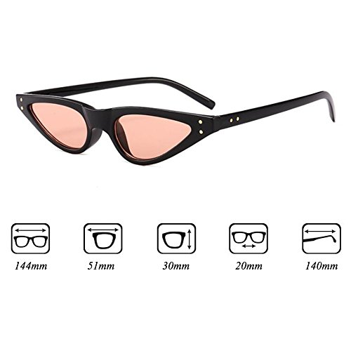 C5 Cat Sunglasses Cateye Eye Hombres Triangle Sun Small Mujeres Highdas Shades Vintage Glasses R7g4XpqK