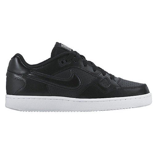 Nike Women's Son of Force Black/White Ankle-High Leather Fashion Sneaker - 8M (Nike Pre Montreal Sneaker)