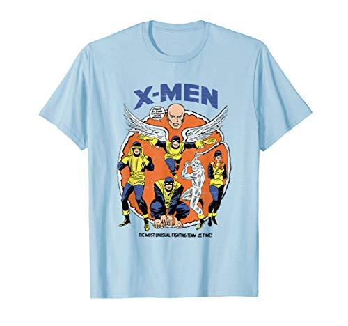X Men T Shirt - Marvel Original X-Men Mutants Classic Retro