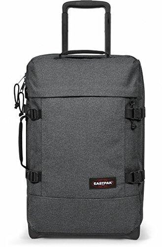 Eastpak Trolley Tasche S TRANVERZ 2,5 kg Anthrazit Schwarz 51x32x24cm Polyester Stoff Reisetasche Koffer Bowatex