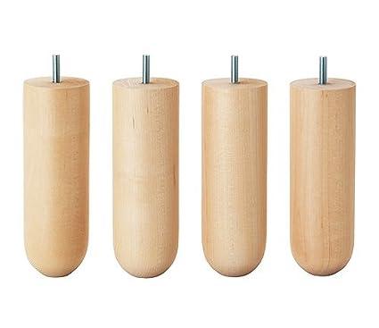 IKEA norsborg 7 1/20,3 cm patas de muebles Cama - Sofá - Loveseat ...
