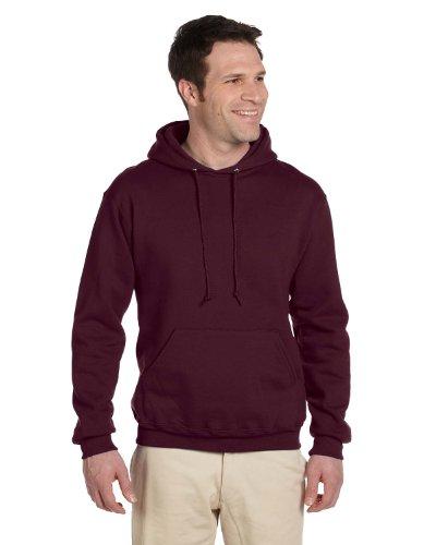 Jerzees 50/50 Hooded Pullover Sweatshirt, S, Maroon - Jerzees 4997 Hoodie Sweatshirt