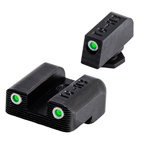 (Tritium Handgun Glow-in-the-Dark Night Sights for Glock Pistols, Glock 42/43 )