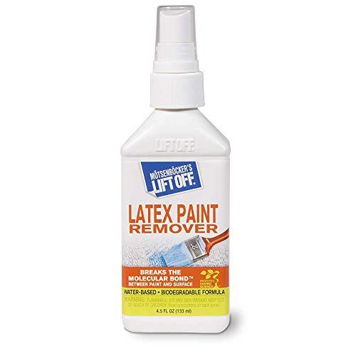 - Motsenbocker's Lift Off 41345 MLO41345XXX0 Latex Paint Remover, 4.5 fl. oz, 1 Pack, Clear