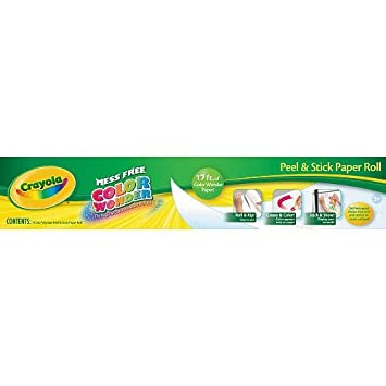 crayola color wonder paper roll amazon co uk toys games