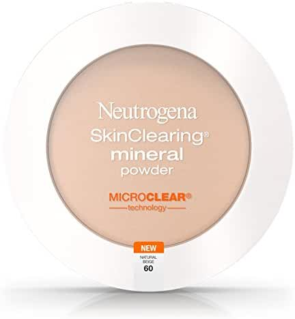 Neutrogena Skinclearing Mineral Powder, Natural Beige 60, .38 Oz.