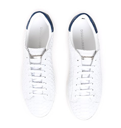 Dsquared2 Herren Snm001544600432m313 Weiss Leder Sneakers