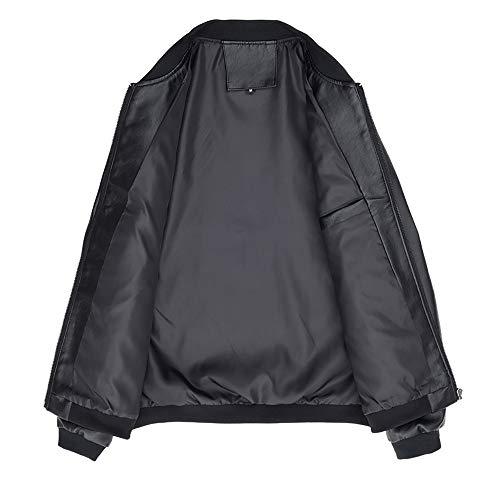 Blazer Lunga Fit Pelle In Maglia Impermeabile Nero Homebaby Giubbini Caldo Cappotti Da Felpe Giacca Inverno Abbigliamento Elegante Uomo Classico Slim Camicia Manica Autunno qCEaz0w
