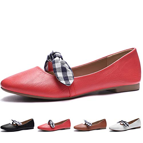 - CINAK Flats Shoes Women Comfort Bow