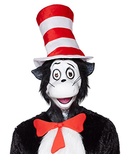 Cat In The Hat Mask (Spirit Halloween Cat in the Hat Mask - Dr. Seuss)