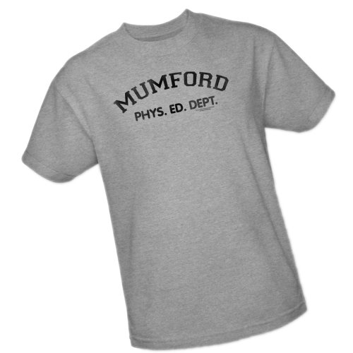 Mumford Phys. Ed. Dept. -- Beverly Hills Cop Adult T-Shirt, ()