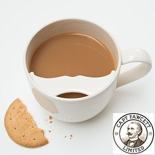 Cup Moustache (Captain Fawcett Moustache Guard Ceramic Cup Mug)