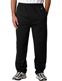 P800 - Eco Open Bottom Sweatpants with Pockets