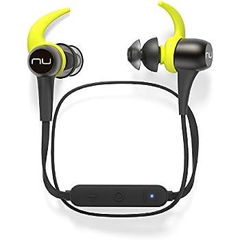 Optoma NuForce BESPORT3-GUNMETAL BE Sport3 Wireless Bluetooth In-Ear Headphones for sports, Gunmetal