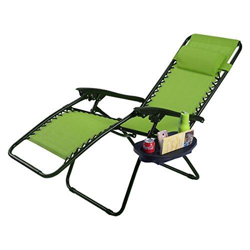 Green Outdoor Recliner - 5