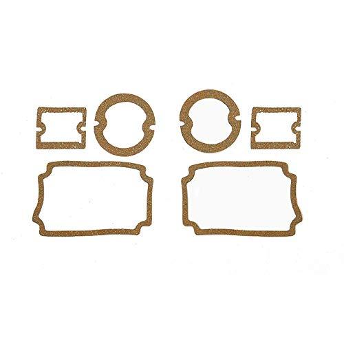 Eckler's Premier Quality Products 57-130730 Chevy Parking Light, Taillight & Back-Up Light Lens Gasket Set, ()