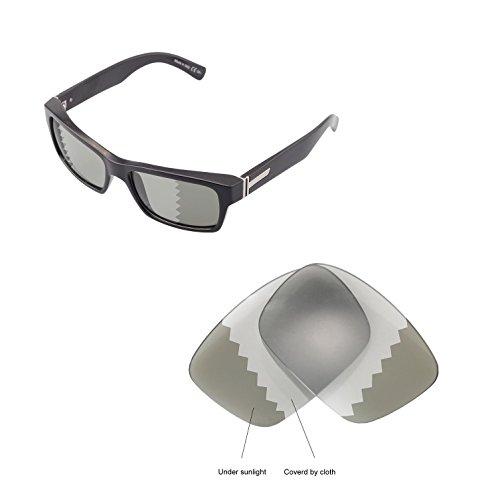 Walleva Replacement Lenses For VonZipper FULTON Sunglasses - Multiple Options available (Transition - - Sunglasses Fulton