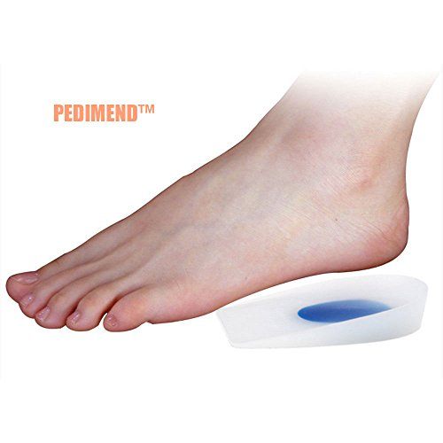 Pedimend Silicone Heel Cup Inserts | Shock Absorber Insoles | Heel Spur...