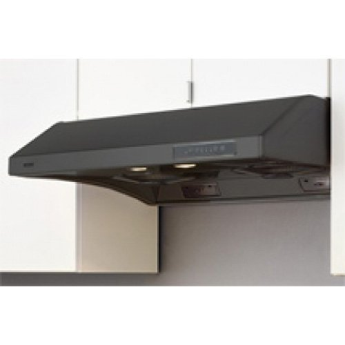 Essential Hurricane 36' 695 CFM Under Cabinet Range Hood Finish: Black